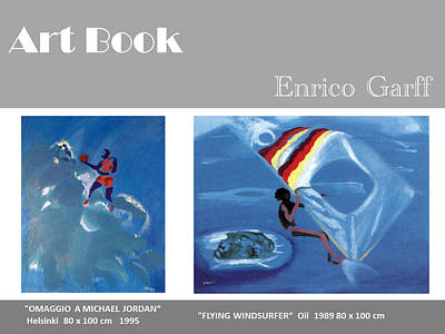 Art Book Art Print by Enrico Garff
