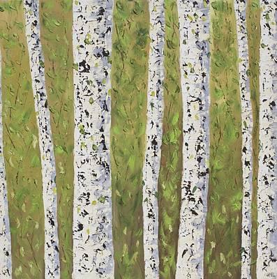 Aspen Trees Colorado Art Print