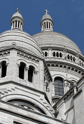 Digital Art - Basilica Du Sacre-coeur De Montmartre by Carol Ailles