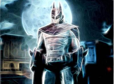 Superman Digital Art - Batman Arkham Asylum Poster by Egor Vysockiy