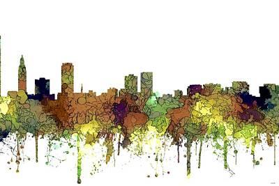 Digital Art - Baton Rouge Louisiana by Marlene Watson