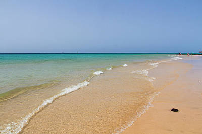 Photograph - Beach In Fuerteventura by Pietro Ebner