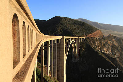 Photograph - Bixby Creek Bridge Big Sur Photo By Pat Hathaway In 2011 by California Views Mr Pat Hathaway Archives