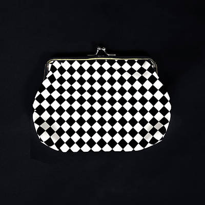 Clutch Bag Photograph - Black And White by Joana Kruse