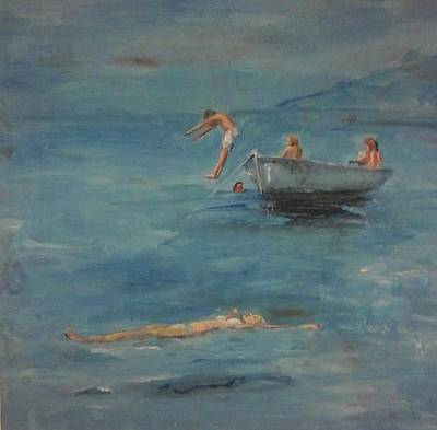 6. Blue Colour  Sea N Sky Original by Evi Panteleon
