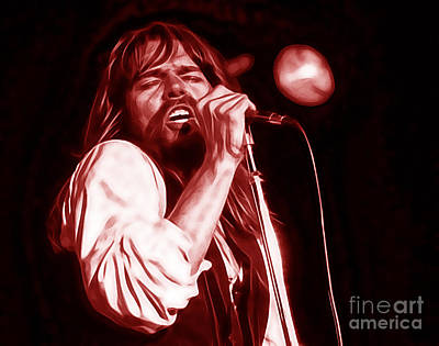Rock N Roll Mixed Media - Bob Seger Collection by Marvin Blaine