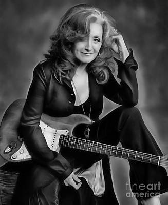 Mixed Media - Bonnie Raitt Collection by Marvin Blaine