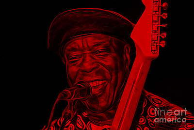 Musicians Mixed Media - Buddy Guy Collection by Marvin Blaine