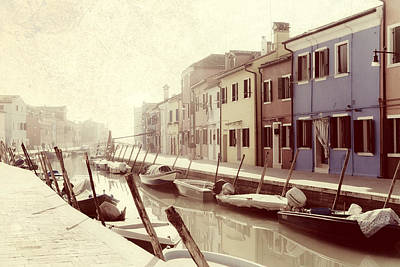 Peaceful Photograph - Burano by Joana Kruse