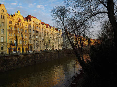 Photograph - By The Vltava. Prague Spring 2017 by Jouko Lehto
