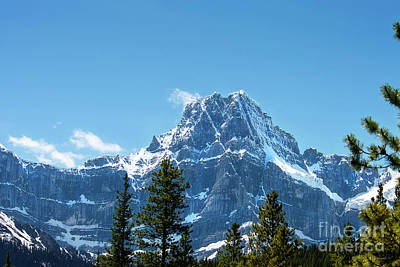 Photograph - Canadian Rockies by David Arment