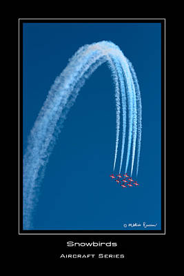Canadian Snowbirds Art Print by Mathias Rousseau