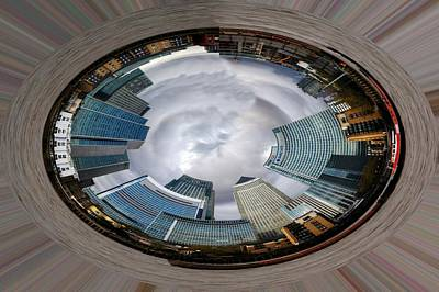 Photograph - Canary Wharf by Chris Day