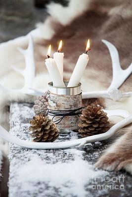 Photograph - Candles by Kati Molin