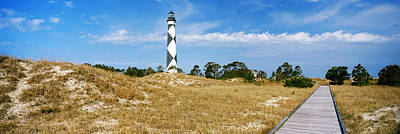 Cape Lookout Photograph - Cape Lookout Lighthouse, Outer Banks by Panoramic Images