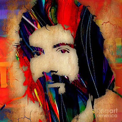 Steven Mixed Media - Cat Stevens Collection by Marvin Blaine