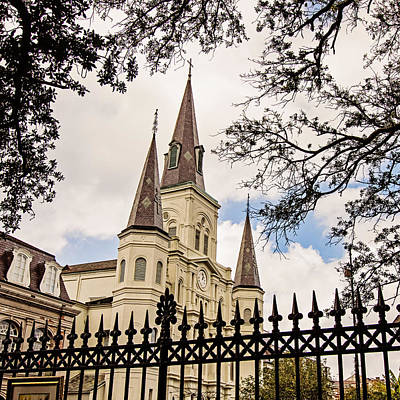South Louisiana Photograph - Cathedral Basilica  by Scott Pellegrin