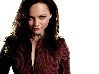 Christina Digital Art - Celebrity Christina Ricci                    by F S