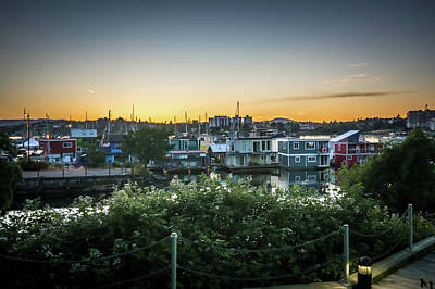 Photograph - City Of Victoria British Columbia In June  by Alex Grichenko