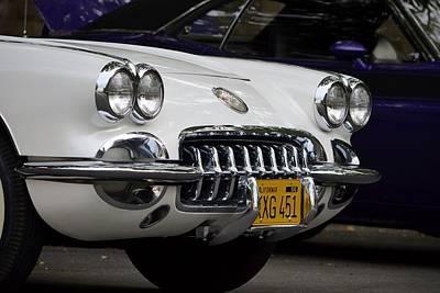 Photograph - Classic Corvette by Dean Ferreira