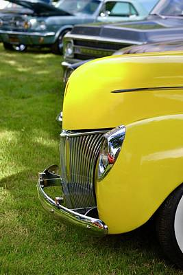Photograph - Classic Ford Detail by Dean Ferreira