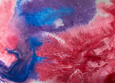 Jouko Lehto Paintings - Color abstracts by Kukka Lehto