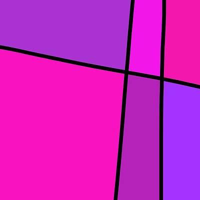 Digital Art - 6 Color Study by Jeff Gater