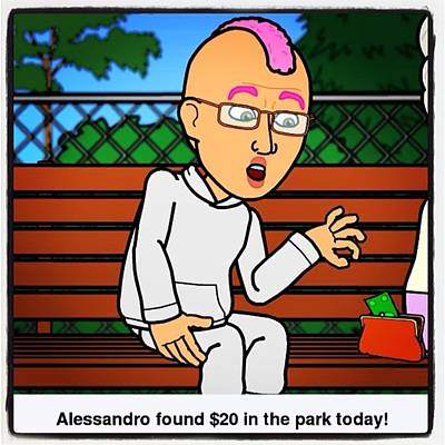 Comics Photograph - Comic Of The Day. #bitstrip #comic by Alessandro  Lo Monaco