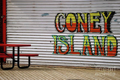 Coney Island, Usa Art Print
