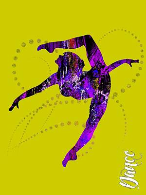Mixed Media - Dance Collection by Marvin Blaine