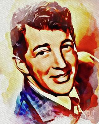 Hollywood Style - Dean Martin, Hollywood Legend by Esoterica Art Agency