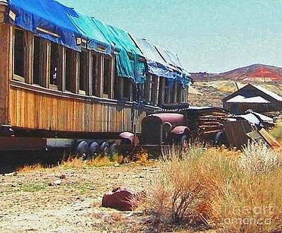Photograph - Desert Dust by Marilyn Diaz