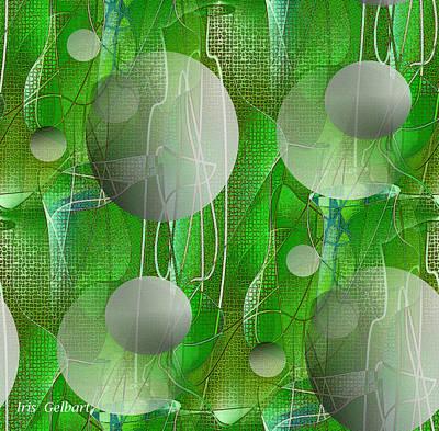Digital Art - Display by Iris Gelbart