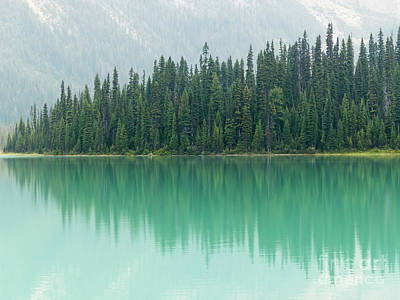 Photograph - Emerald Lake by Rod Jones