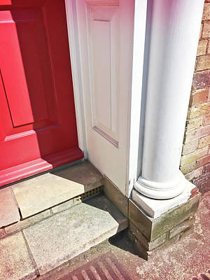 Entrance Steps Art Print