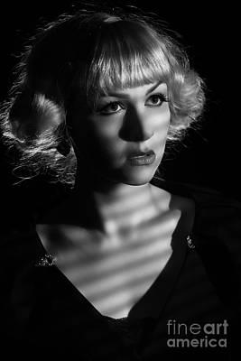 Film Noir Art Print by Amanda Elwell