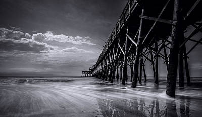 Folly Beach Art Print by RC Pics