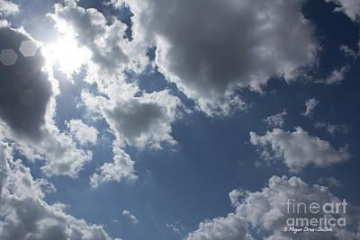 Photograph - 6-gon Boken Sky by Megan Dirsa-DuBois