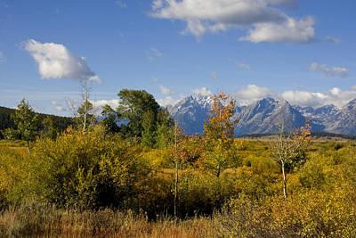 Photograph - Grand Tetons by Mark Smith