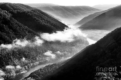 Photograph - Grandview New River Gorge by Thomas R Fletcher