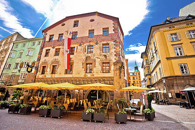 Photograph - Historic Street Of Innsbruck View by Brch Photography