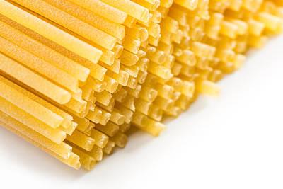 Italian Spaghetti Extruded Through Bronze  Art Print