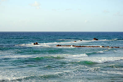 Photograph - Jaffa Beach 4 by Isam Awad