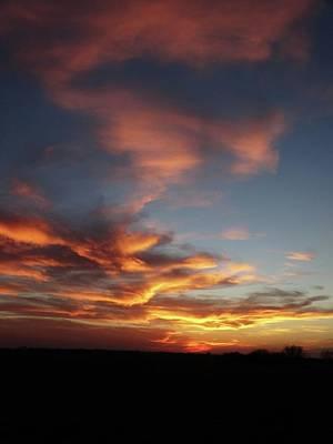 Photograph - Kansas Sunset by Rebecca Overton