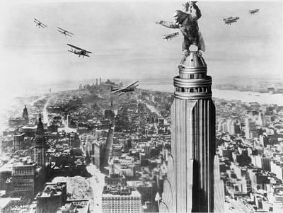 King Kong, 1933 Art Print by Granger
