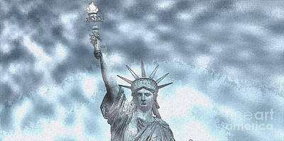 Madonna - Lady Liberty by Celestial Images