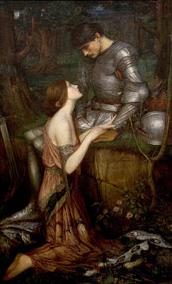 Lamia Art Print by John William Waterhouse