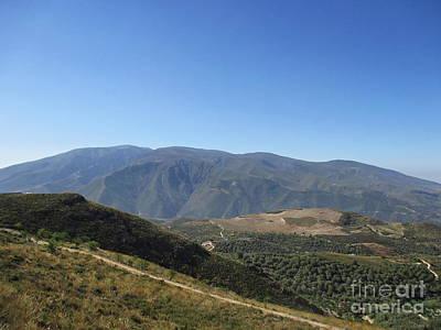 Photograph - Mountains Near Lanjaron by Chani Demuijlder