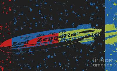 Led Zeppelin Art Print by RJ Aguilar