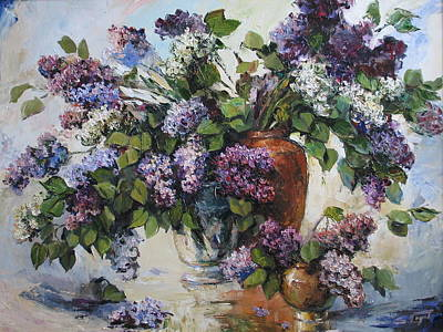 Lilacs Print by Tigran Ghulyan
